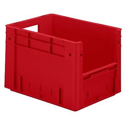 Euro-Stapelbehälter - Inhalt 23,3 l, Außen-LxBxH 400 x 300 x 270 mm, VE 4 Stk