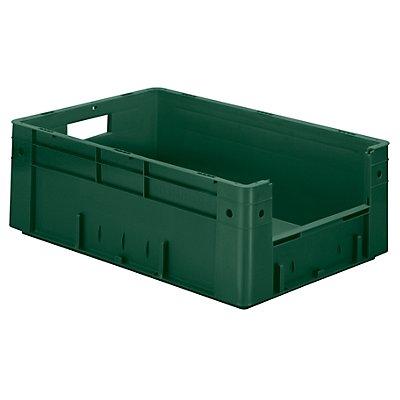 Euro-Stapelbehälter - Inhalt 38 l, Außen-LxBxH 600 x 400 x 210 mm, VE 2 Stk