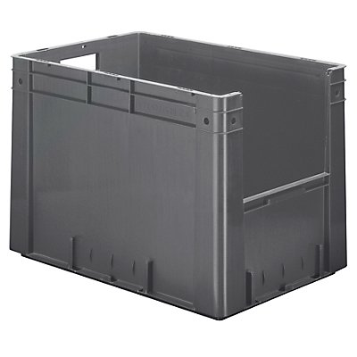 Euro-Stapelbehälter - Inhalt 80 l, Außen-LxBxH 600 x 400 x 420 mm, VE 2 Stk