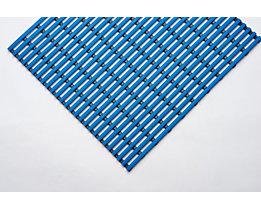 Nassraummatte, antibakteriell, pilzfeindlich - Nassraummatte, antibakteriell, pro lfd. m - Breite 1000 mm, blau