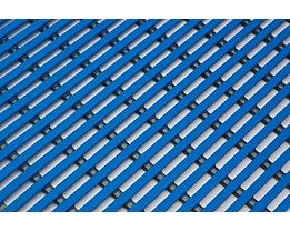 Nassraummatte, antibakteriell, pilzfeindlich - Nassraummatte, antibakteriell, pro lfd. m - Breite 800 mm, blau