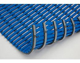 Nassraummatte, antibakteriell, pilzfeindlich - Nassraummatte, antibakteriell, pro lfd. m - Breite 600 mm, blau
