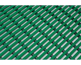 Nassraummatte, antibakteriell, pilzfeindlich - Nassraummatte, antibakteriell, pro lfd. m - Breite 1000 mm, grün