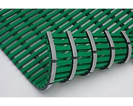 Nassraummatte, antibakteriell, pilzfeindlich - Nassraummatte, antibakteriell, pro lfd. m - Breite 1200 mm, grün