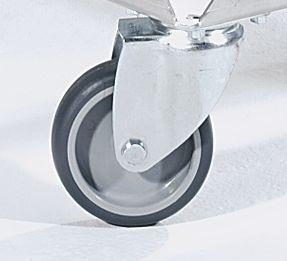 Alu-Fahrgestell - Tragfähigkeit 250 kg