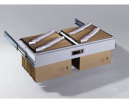 Hängeauszug - geeignet für Elba- oder Leitzsysteme - für BxT 930 x 400 mm