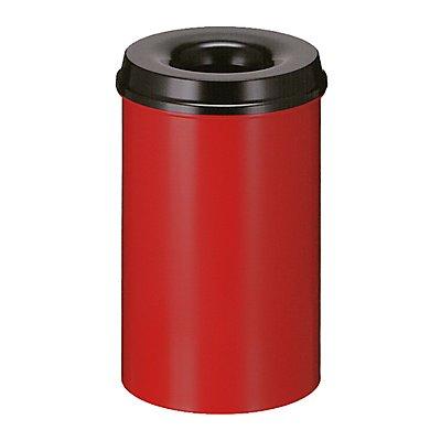 Papierkorb, flammverlöschend - Inhalt 20 l, Höhe 426 mm