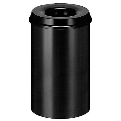 Corbeille à papier anti-feu - capacité 20 l, hauteur 426 mm