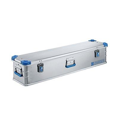 ZARGES Aluminium-Universalbox - Inhalt 63 l - Außenmaß LxBxH 1200 x 300 x 250 mm