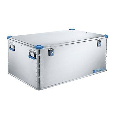 ZARGES Caisse universelle en aluminium - capacité 414 l - dim. ext. L x l x h 1200 x 800 x 510 mm