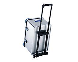 ZARGES Anbau-Trolley - Tragkraft bis 30 kg - Griff ausziehbarer / arretierbar
