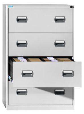 office akktiv Hängeregistraturschrank - 2-bahnig, 4 Schübe