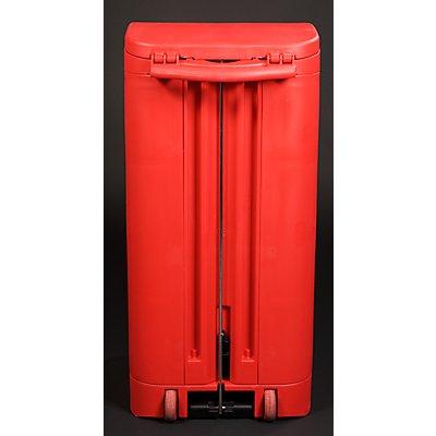 Rubbermaid Kunststoff-Pedal-Abfallsammler - für 120-l-Sack