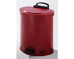 Sicherheits-Entsorgungsbehälter, Deckel selbstschließend - aus Stahlblech