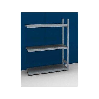 hofe Großfach-Steckregal mit Stahlböden - Höhe 2000 mm, Fachbodenbreite 1500 mm