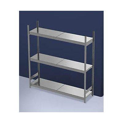 hofe Großfach-Steckregal mit Stahlböden - Höhe 2000 mm, Fachbodenbreite 2000 mm