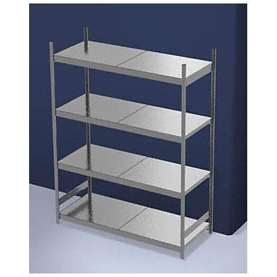 hofe Großfach-Steckregal mit Stahlböden - Höhe 2500 mm, Fachbodenbreite 2000 mm