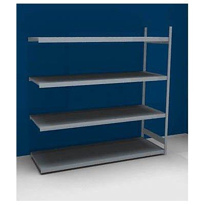 hofe Großfach-Steckregal mit Stahlböden - Höhe 2500 mm, Fachbodenbreite 2500 mm