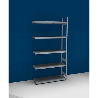 hofe Großfach-Steckregal mit Stahlböden - Höhe 3000 mm, Fachbodenbreite 1500 mm