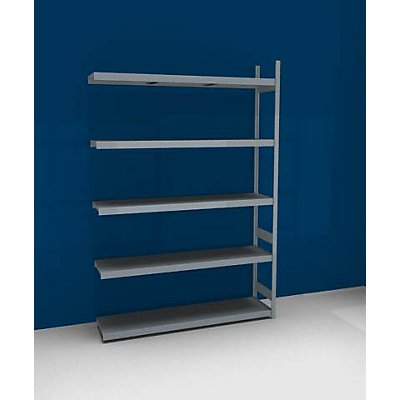 hofe Großfach-Steckregal mit Stahlböden - Höhe 3000 mm, Fachbodenbreite 2000 mm