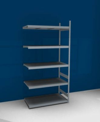 Großfach-Steckregal mit Stahlböden - Höhe 3000 mm, Fachbodenbreite 1500 mm