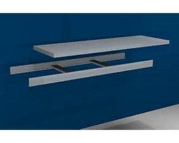 Zusatzfachebene inkl. Traversen und Stahlboden - Breite 1500 mm - Tiefe 500 mm