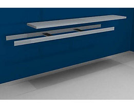 hofe Zusatzfachebene inkl. Traversen und Stahlboden - Breite 2500 mm - Tiefe 500 mm