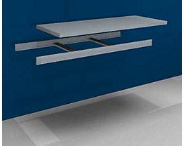 hofe Zusatzfachebene inkl. Traversen und Stahlboden - Breite 1500 mm - Tiefe 600 mm