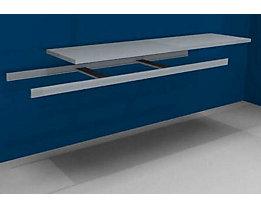 hofe Zusatzfachebene inkl. Traversen und Stahlboden - Breite 2500 mm - Tiefe 600 mm