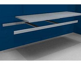 hofe Zusatzfachebene inkl. Traversen und Stahlboden - Breite 2500 mm - Tiefe 800 mm