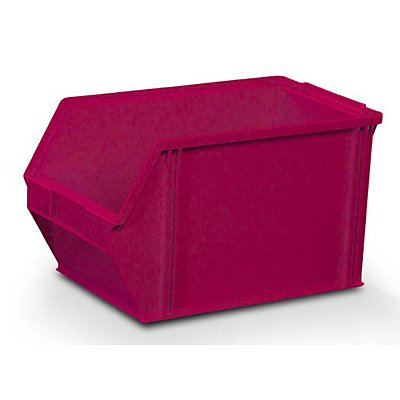 Sichtlagerkasten aus Polystyrol - Außen- / Innenlänge 350 / 300 mm