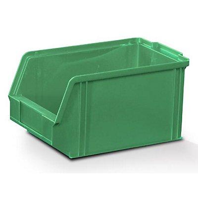 Plastipol-Scheu Sichtlagerkasten aus Polystyrol - Außen- / Innenlänge 230 / 200 mm