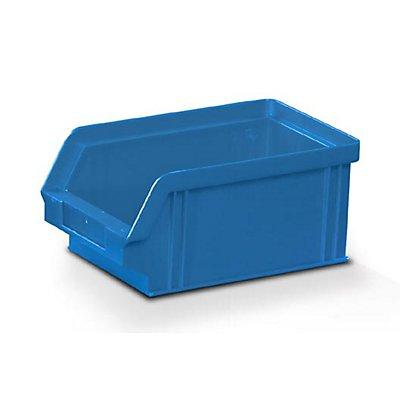 Plastipol-Scheu Sichtlagerkasten aus Polystyrol - Außen- / Innenlänge 160 / 140 mm