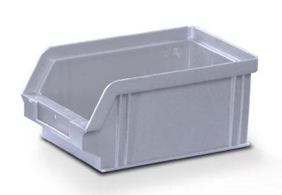 Sichtlagerkasten aus Polystyrol - Außen- / Innenlänge 160 / 140 mm