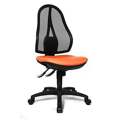 Topstar si ge de bureau m canisme synchrone et assise ergonomique - Siege sans dossier ergonomique bureau ...