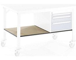 RAU Ablageboden unten - für Tisch- BxT 1000 x 800 mm - Boden- BxT 890 x 595 mm