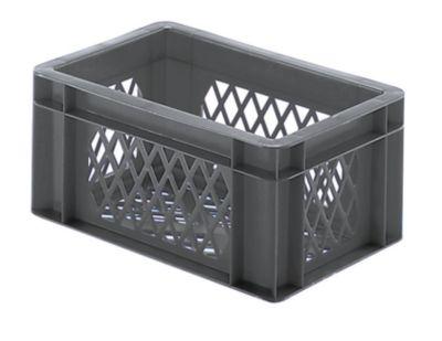 Euro-Format-Stapelbehälter, Wände und Boden durchbrochen - LxBxH 300 x 200 x 145 mm