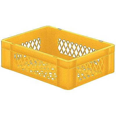 Euro-Format-Stapelbehälter, Wände und Boden durchbrochen - LxBxH 400 x 300 x 120 mm