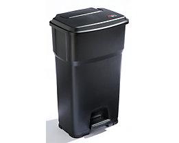Rothopro Pedal-Abfallsammler - Volumen 85 Liter - schwarz