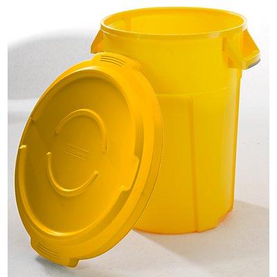 rothopro Multifunktionsbehälter aus Kunststoff - Volumen 85 l, Beschichtung lebensmittelecht