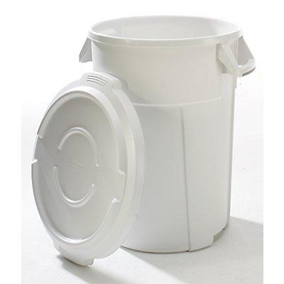 rothopro Multifunktionsbehälter aus Kunststoff - Volumen 120 l, Beschichtung lebensmittelecht