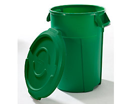 Multifunktionsbehälter aus Kunststoff - Volumen 120 l - grün