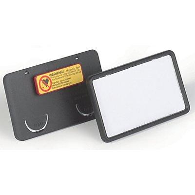 Durable CLIP CARD mit Magnet - HxB 40 x 75 mm