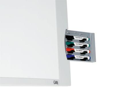 MAUL® Convexboard, Komplettset - Stahlblech, emaillebeschichtet - BxH 900 x 600 mm