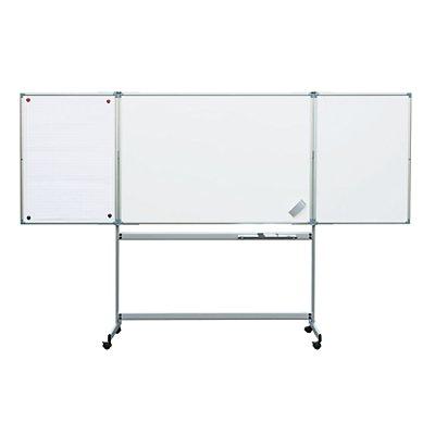 MAUL® Klapptafel, mobil - aus kunststoffbeschichtetem Stahlblech - Tafel BxH 1500 x 1000 mm