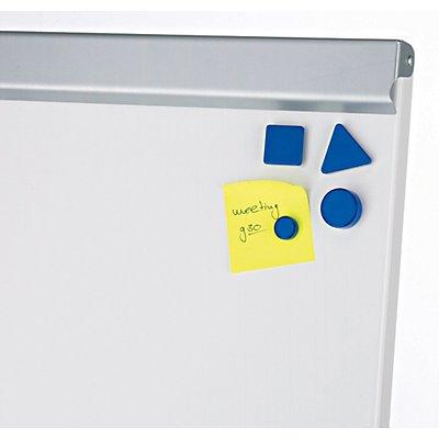 MAUL® Flipchart - Tafel-BxH 700 x 1000 mm - Stahlblech, pulverbeschichtet