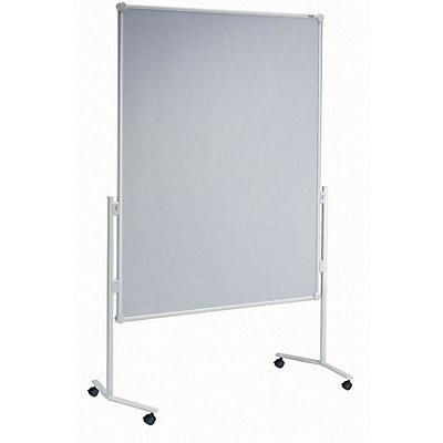 MAUL® Moderationswand - mit Glasfaser-Oberfläche und Rollen - BxH 1200 x 1500 mm