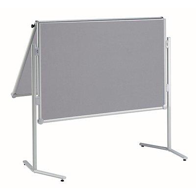 MAUL® Moderationstafel, klappbar - Textil-Oberfläche