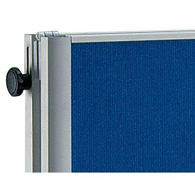 MAUL® Pinnwandtafel, klappbar - Glasfaser-Oberfläche - BxH 1200 x 1500 mm