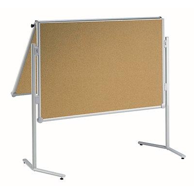 MAUL® Korktafel - klappbar und mobil - BxH 1200 x 1500 mm